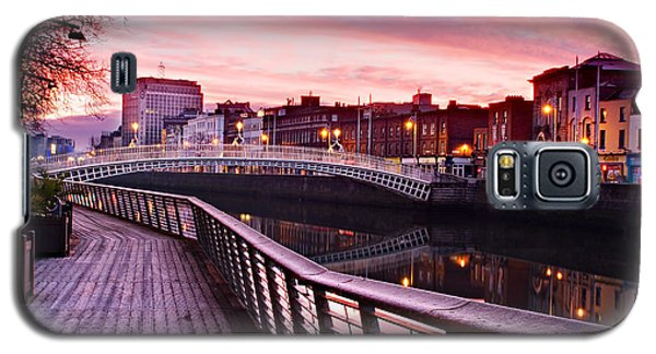 Liffey Boardwalk At Dawn - Dublin Galaxy S5 Case