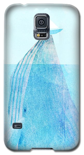 Whale Galaxy S5 Case - Lift by Eric Fan