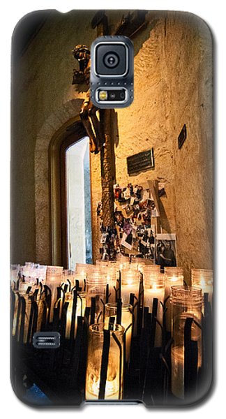 Galaxy S5 Case featuring the photograph Light A Candle For Me by Andy Crawford