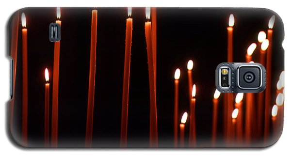 Light A Candle Say A Prayer Galaxy S5 Case