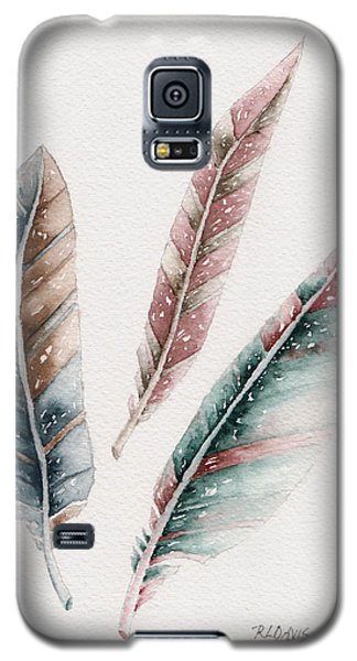 Galaxy S5 Case featuring the painting Light As A Feather by Rebecca Davis