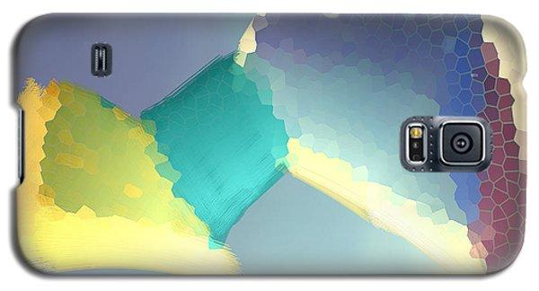 Galaxy S5 Case featuring the digital art Light Box by Constance Krejci