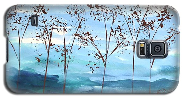 Galaxy S5 Case featuring the painting Light Breeze by Linda Bailey
