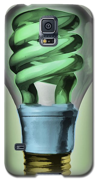 Light Bulb Galaxy S5 Case by Bob Orsillo