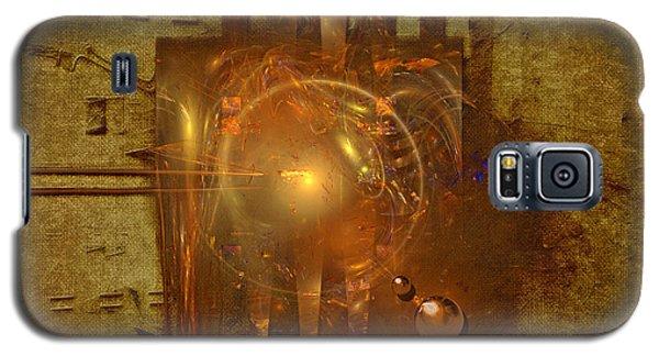 Galaxy S5 Case featuring the painting Light Clock by Alexa Szlavics