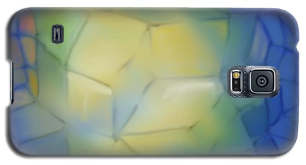 Galaxy S5 Case featuring the digital art Light Cubes Away by Constance Krejci