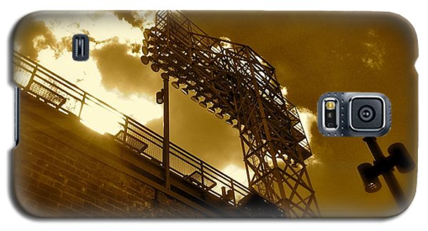 Light  Fenway Park Galaxy S5 Case by Iconic Images Art Gallery David Pucciarelli