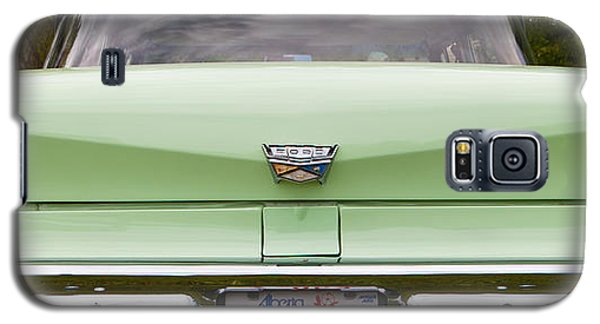 Galaxy S5 Case featuring the photograph Light Green Classic Car by Mick Flynn