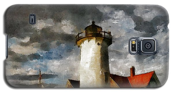 Light House In A Storm Galaxy S5 Case