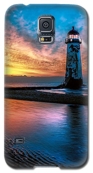 Light House Sunset Galaxy S5 Case