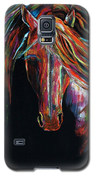 Galaxy S5 Case featuring the painting Light In The Darkness by Jennifer Godshalk