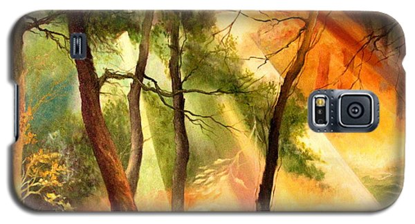 Light In The Forest Galaxy S5 Case