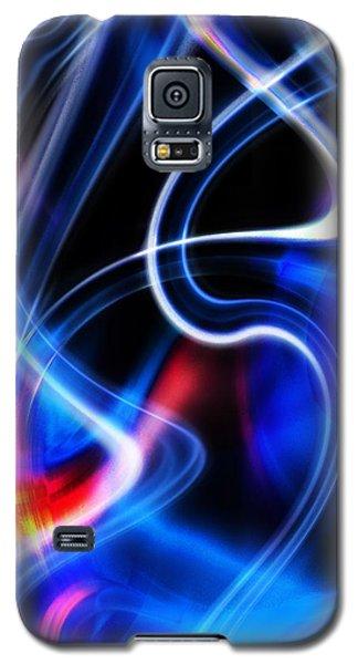 Galaxy S5 Case featuring the digital art Light Orgasmic by Selke Boris