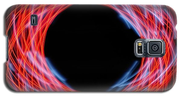 Light Patterns 005 Galaxy S5 Case by Todd Soderstrom