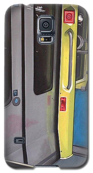Galaxy S5 Case featuring the painting Light Rail by Jude Labuszewski