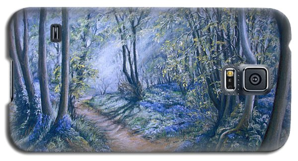 Galaxy S5 Case featuring the painting Light by Rosemary Colyer