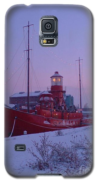 Galaxy S5 Case featuring the photograph Light Ship by John Williams