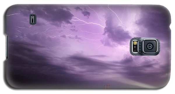 Light Show Over Yorkton Galaxy S5 Case by Ryan Crouse