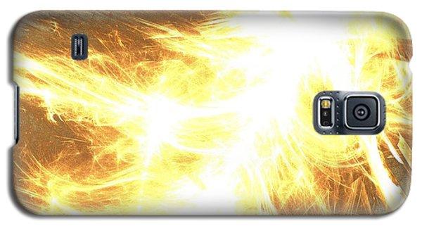 Galaxy S5 Case featuring the digital art Light Spark by Kim Sy Ok
