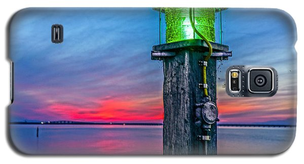 Light Tower In Evening Gloom Galaxy S5 Case