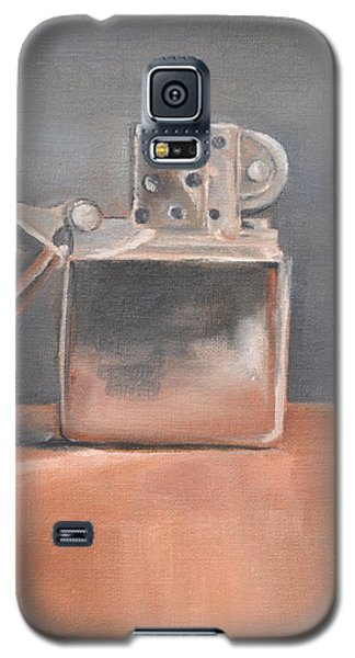Galaxy S5 Case featuring the painting Lighter by Lindsay Frost