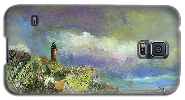 Lighthouse And Fisherman Galaxy S5 Case