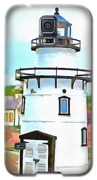 Lighthouse At Old Saybrook Point Galaxy S5 Case