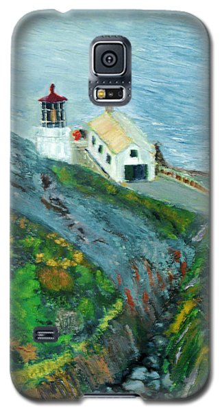 Lighthouse At Point Reyes California Galaxy S5 Case
