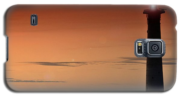 Galaxy S5 Case featuring the photograph Lighthouse At Sunrise by Julis Simo