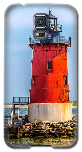 Lighthouse At The Delaware Breakwater Galaxy S5 Case