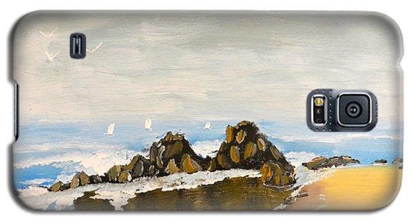 Lighthouse Beach Galaxy S5 Case