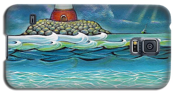 Lighthouse Fish 030414 Galaxy S5 Case