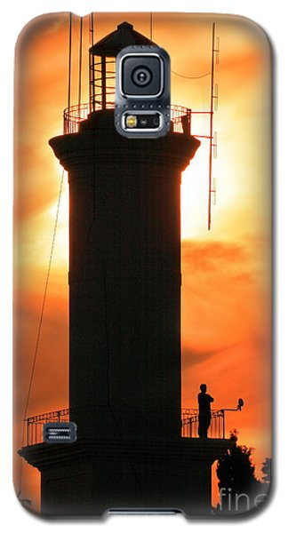 Galaxy S5 Case featuring the photograph Lighthouse I by Bernardo Galmarini