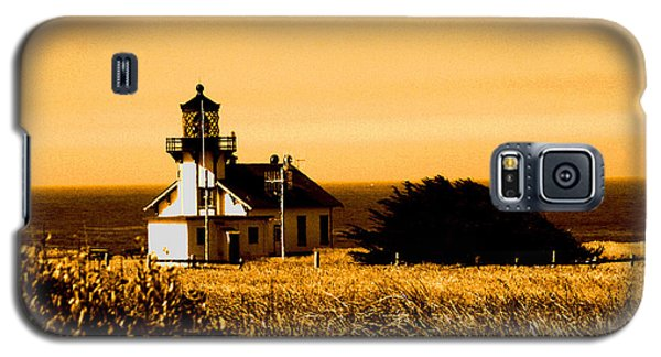 Lighthouse In Autumn Galaxy S5 Case