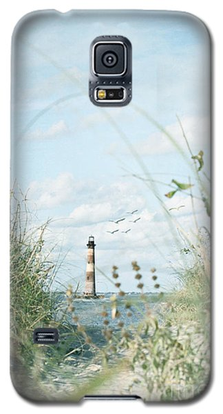 Lighthouse In The Sea Galaxy S5 Case