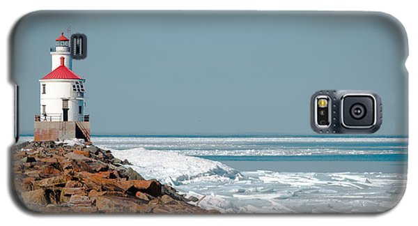 Lighthouse On Stone And Ice Galaxy S5 Case