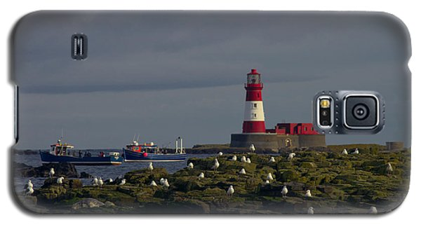 Lighthouse On The Farne Isands Northumberland Galaxy S5 Case