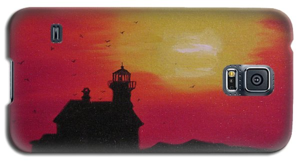 Lighthouse Silhouette Galaxy S5 Case