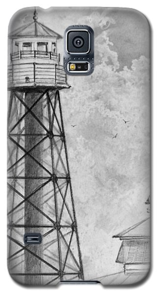 Lighthouse Sumter Landing Galaxy S5 Case by Jim Hubbard