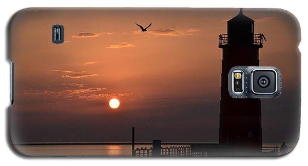Lighthouse Sunrise Galaxy S5 Case