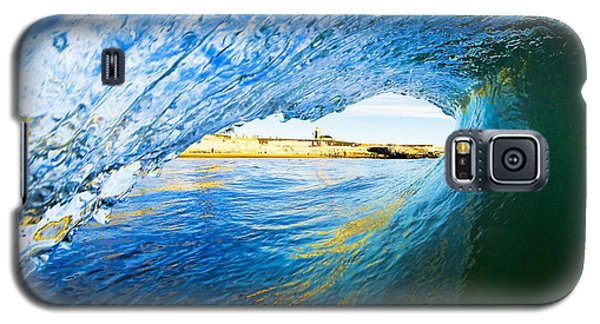Lighthouse Wave 2 Galaxy S5 Case by Paul Topp