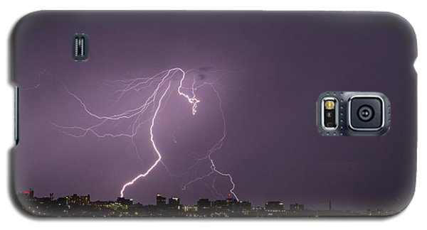 Lighting Over Portland Maine Galaxy S5 Case