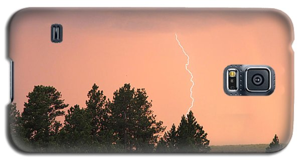 Lighting Strikes In Custer State Park Galaxy S5 Case