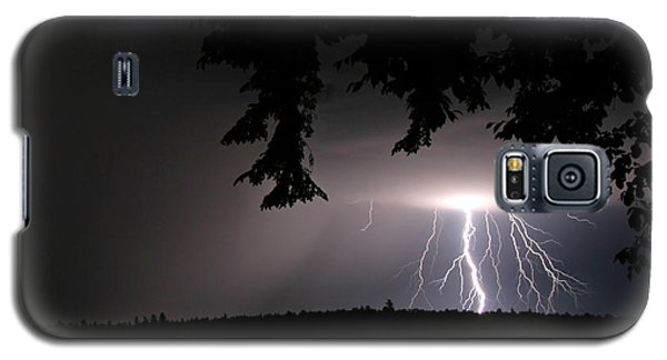 Lightning At Night Galaxy S5 Case