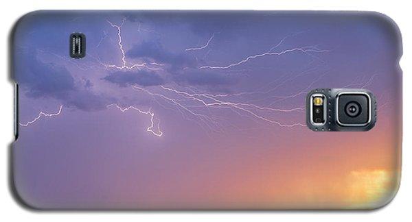 Lightning At Sunset Galaxy S5 Case