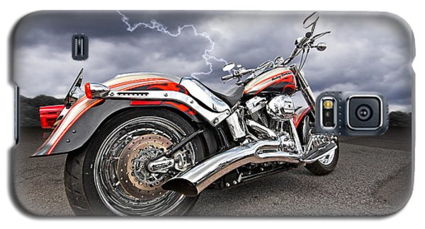 Lightning Fast - Screamin' Eagle Harley Galaxy S5 Case