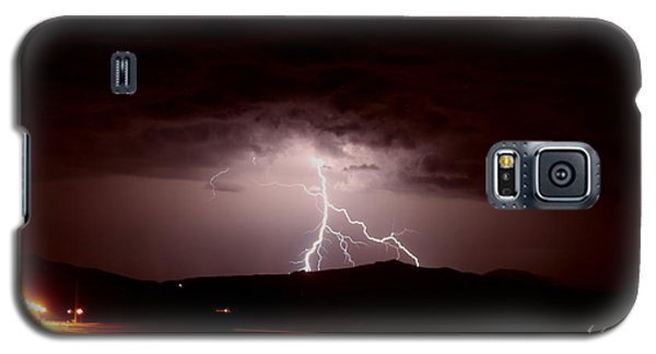 Lightning Mountain Galaxy S5 Case