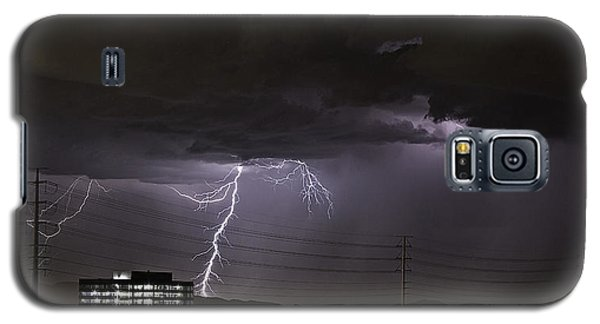 Lightning Over Las Vegas Galaxy S5 Case