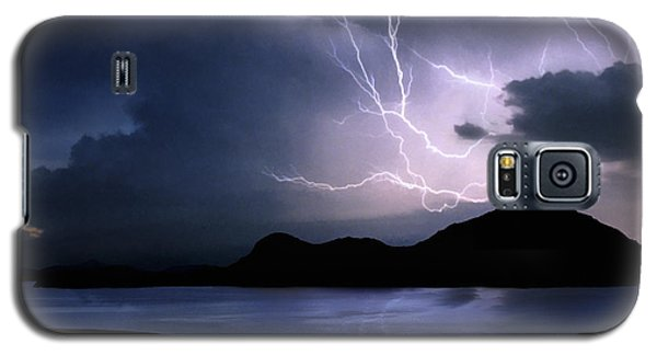 Lightning Over Quartz Mountains - Oklahoma Galaxy S5 Case