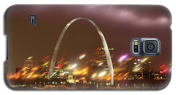 Lightning Over The Arch Galaxy S5 Case